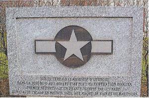 Inauguration de la stèle commémorative le 5 septembre 1993